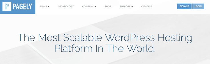 Pagely was the first managed hosting service for WordPress.