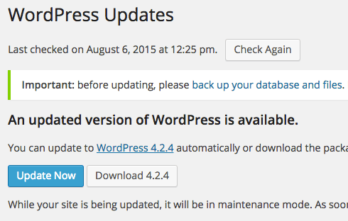 Though minor updates install automatically, major ones still require approval.