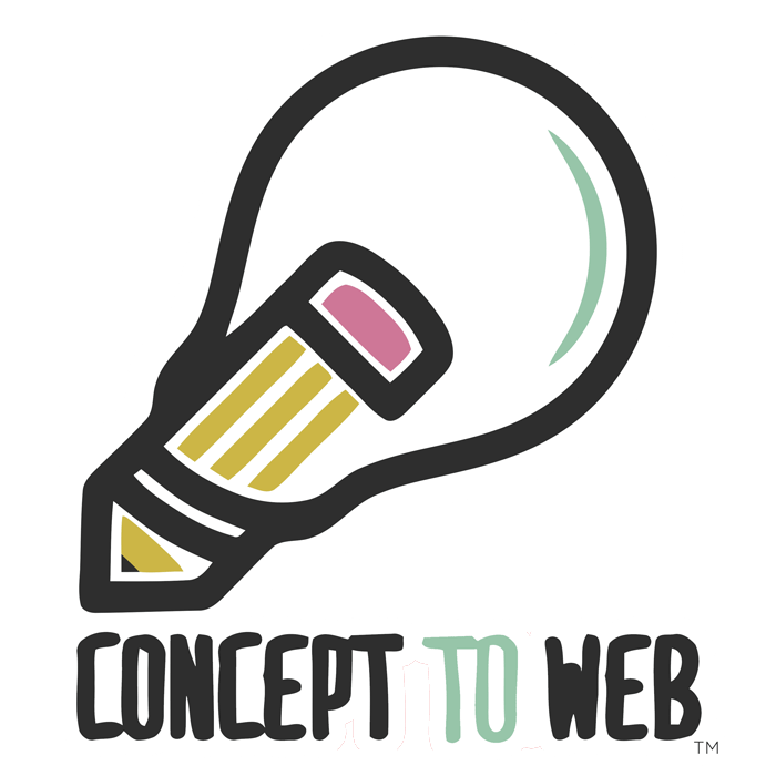 Concept To Web Logo