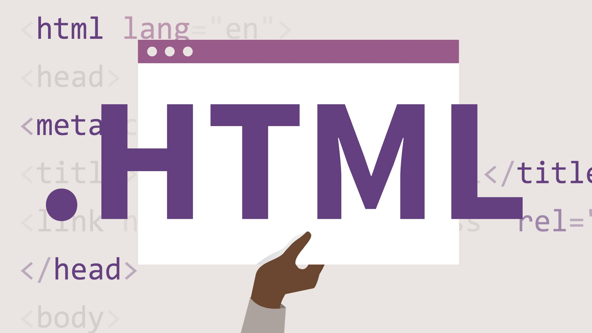 A Beginner's Guide to HTML
